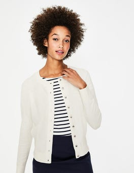 Ivory Cardigan At Boden