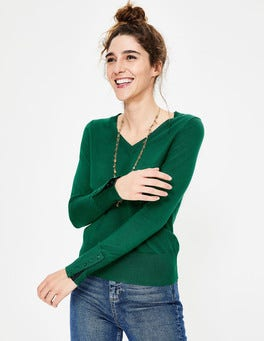 Forest Tilda V-neck Jumper