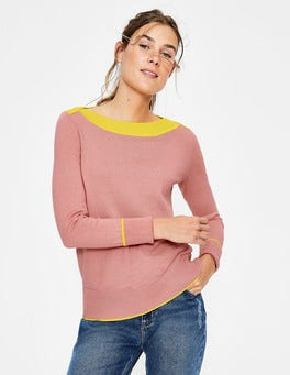 Chalky Pink Louisa Sweater