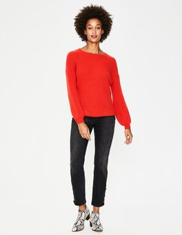 Red Pop Eve Jumper