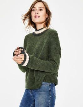 Khaki Lily Sweater