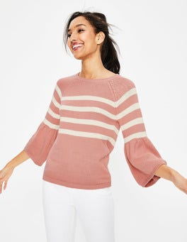 Chalky Pink Arianna Sweater