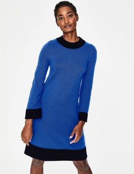 Cobalt/Navy Mara Knitted Dress
