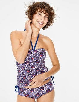 Island Bloom Sardinia Tankini Top