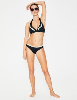 Navy Mykonos Bikini Bottoms