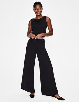 Black Clarissa Jumpsuit
