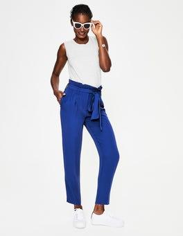 Cobalt Melina Paperbag Pants