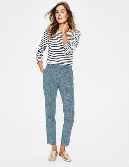 Heron Blue, Cluster Spot Richmond 7/8 Trousers
