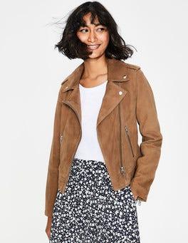 Soft Truffle Suede Morleigh Jacket