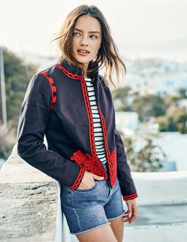 Lisbon Embroidered Jacket