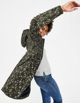 Classic Khaki, Sketchy Star M Suki Waterproof Coat