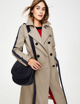 Soft Stone Whitstable Trench Coat