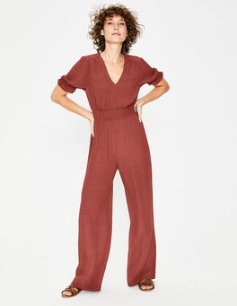 Red Jasmine Jumpsuit