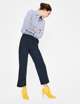 Navy Hambledon Pants
