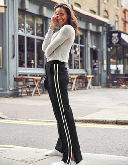 Wells Wide Leg Ponte Trousers