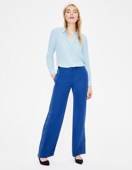 Cobalt Exeter Wide Leg Trousers