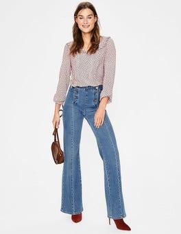Mid Vintage The Helston Sailor Jeans