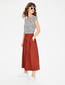 Conker Theodora Pleated Skirt