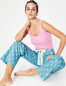 Heron Blue & Ivory, Pineapple Suzie PJ Bottoms