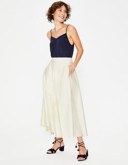 Ivory Delilah Midi Skirt