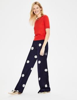 Navy, Mega Spot Rhea Trousers