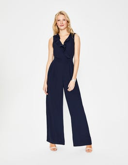 Navy Dolly Jumpsuit
