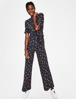 Navy and Happy, Posy Bloom Emmeline Jumpsuit