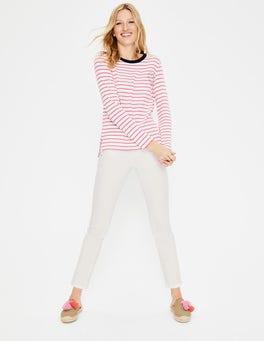 Ecru Cambridge Ankle Skimmer Jeans