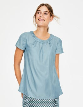 Heron Blue Carey Top