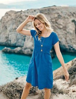 Alberta Linen Dress