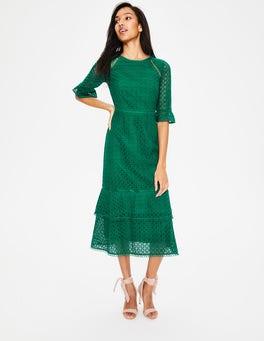 Forest Lana Lace Midi Dress