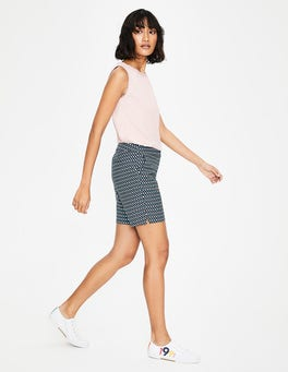 Heron Blue, Diamond Lattice Richmond Shorts