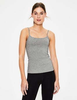 Grey Marl Plain Cami