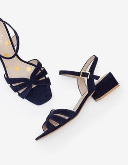 Navy Nerissa Sandals