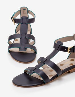 Navy Eva Gladiator Sandals