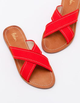 Red Pop Lizzie Slides