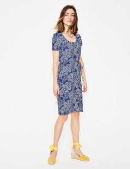 Lapis Mexican Paisley Elspeth Jersey Dress