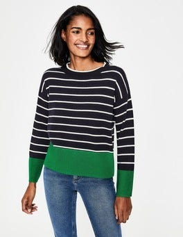 Navy Andrea Sweater