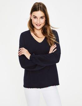 Navy Livia Sweater