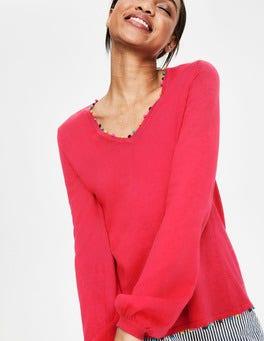 Strawberry Split Livia Sweater