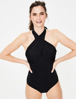 Black Crete Swimsuit