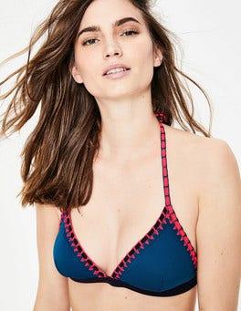 Navy Sicily Bikini Top