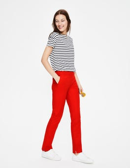 Red Pop Richmond Trousers