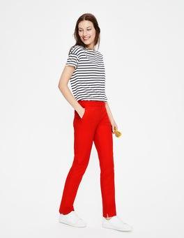 Red Pop Richmond Pants