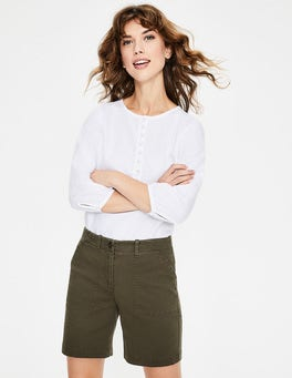 Klassisches Khaki Bude Shorts