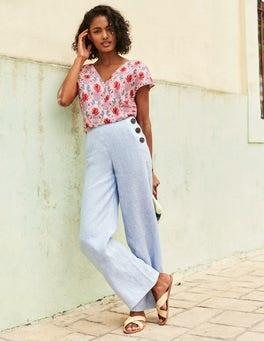 Pantalon Penzance en lin