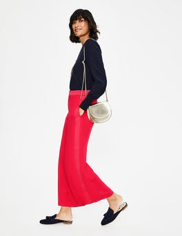 Dark Rose Exeter Wide Leg Culottes