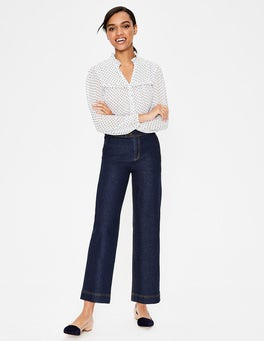 indigo The Camberwell Cropped Jeans