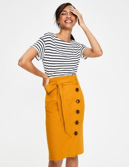 Yellow Ochre Leonora Skirt