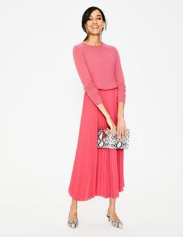 Strawberry Split Kristen Pleated Skirt